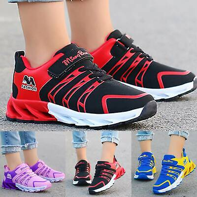 Kids Girls Boys Sneakers Running Walking Comfy Trainers Sports Casual Shoes Size