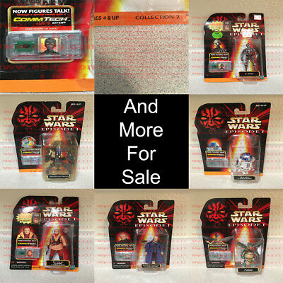 *OBO* Star Wars Episode I Collection 2 CommTech Chip Hasbro 1996-2010
