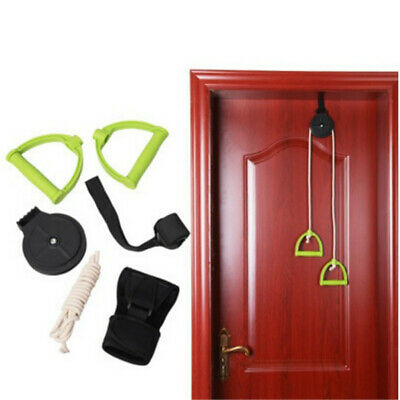 2.2m Over Door Pulley Shoulder Physical Therapy Exercises Rehabilitation Trainer