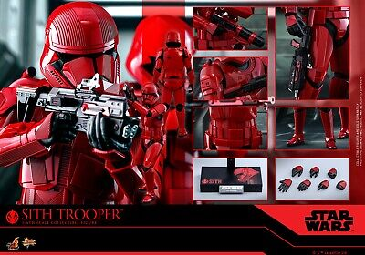 Hot Toys 1/6 Sith Trooper Figure Spider Star Wars The Rise of Skywalker MMS544