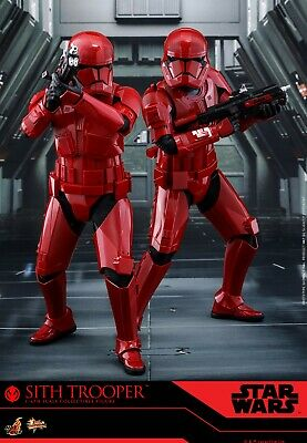 Rise of Skywalker SITH TROOPER 1/6 Hot Toys MMS544 Solider Figure Set