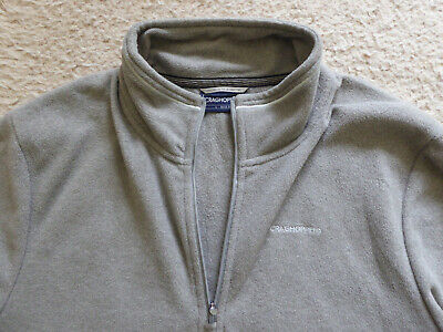 RRP £50.00 Mens Craghoppers Austell Half Zip Fleece