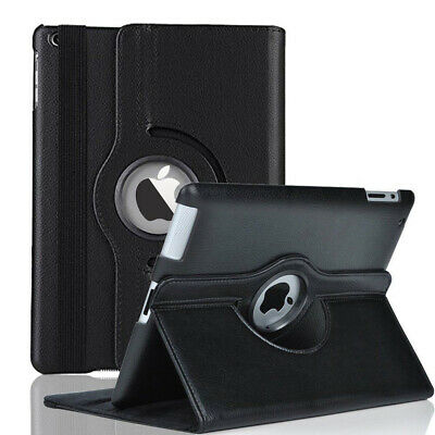 360° Rotating Flip Leather Smart Stand Anti-Knock Case Cover For iPad Mini 2 3 4