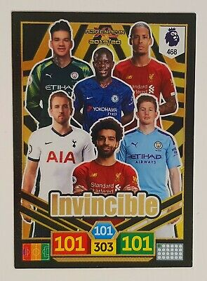 Panini Adrenalyn Xl Premier League 2019/20 Invincible Card 19/20 #468
