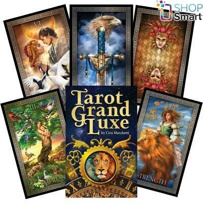 Tarot Grand Luxe Cards Deck Us Games Systems Ciro Marchetti Esoteric Telling New