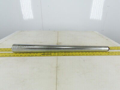 """Dematic Curved Tapered Gravity Conveyor Roller 28"""" BF 27-1/2"""" Face"""