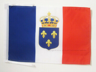 FRENCH ROYAL SMALL FLAGS 30 x KINGDOM OF FRANCE ANGELS FLAG 18/'/' x 12/'/' cords