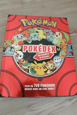 Livre Pokemon Pokedex De Kanto A Kalos 309 Eur 8 00