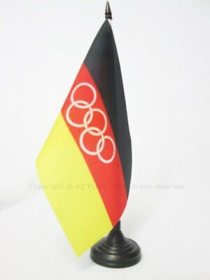 UNIFIED TEAM OF GERMANY 1960-1968 TABLE FLAG 5'' x 8'' - GERMAN OLYMPIC DESK FLA