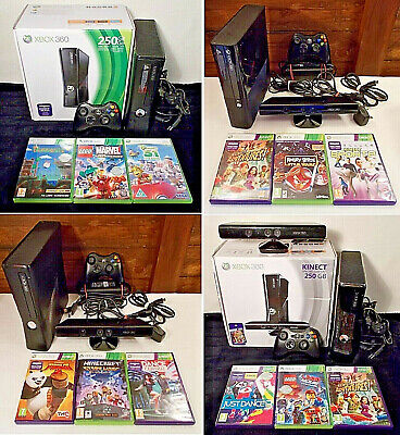 Xbox 360 Console & Kids Game Bundle **Pick One** Minecraft Lego Kinect & More Gc
