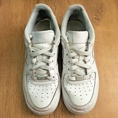 Details about Nike Air Force 1, size 5 women's white high tops (hardly worn) trainers sneakers