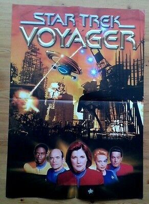 Star Trek Voyager ~42x59cm poster / The Perspective August 2000 newsletter