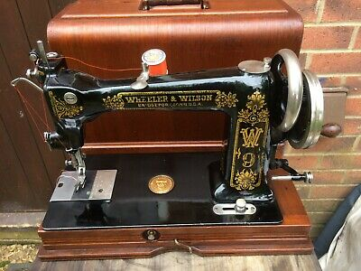 Beautiful Antique Wheeler & Wilson Number 9 Sewing Machine