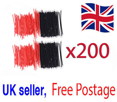 200x 6cm Jumper Cable Breadboard Solderless electric wire test Arduino Wire  *
