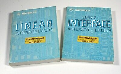 1979 Motorola Linear Interface Data Books - 2 Books