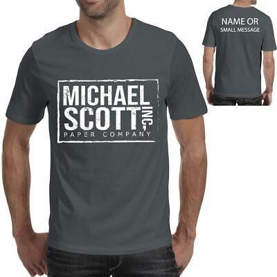 Michael Scott paper company inspired The office TV series  Mens   T-shirt