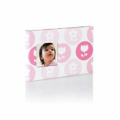 Photo Album Holds 24 Photos  Pearhead Baby Brag Book Pink Flowers