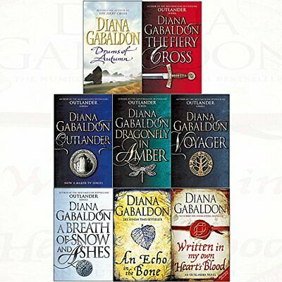 Diana gabaldon collection outlander series (books 1 to 8) dragonfly in amber, vo
