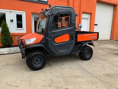 KUBOTA RTV-X1100C UTILITY Vehicle Operator's Manual K7731 ... on