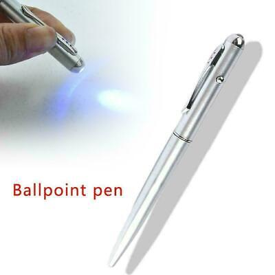 Creative Magic LED UV Light Ballpoint Pen with Invisible Ink For Sale Secre G8T4