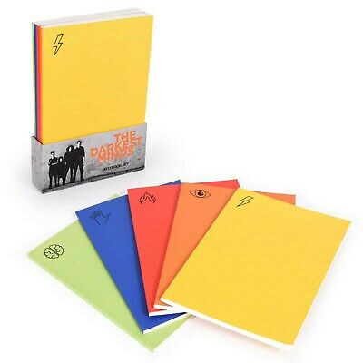 The Darkest Minds Notebook set includes 5 multiple colour notebooks with holder