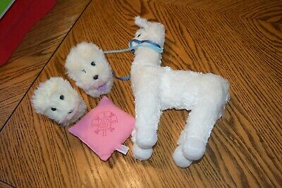 American Girl Doll Girl of the Year Chrissa's Pet Llama STARBURST AND 2 Dogs