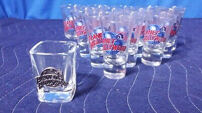 [Lot of 15] Planet Hollywood Shotglass Collection [TC]