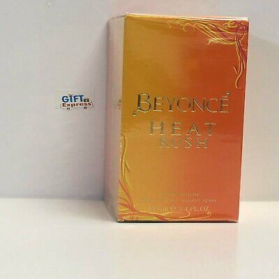 Beyonce Heat Rush Perfume for Women 3.4 oz EDT Brand  New
