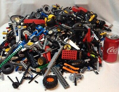 15 Pounds Lbs Lego TECHNIC Mindstorm Parts Gears Beams Lot # 1