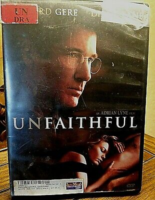 Unfaithful DVD with Richard Gere and Diane Lane Wide Screen Special Edition.