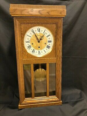 Jauch pendulum wall clock with chimes