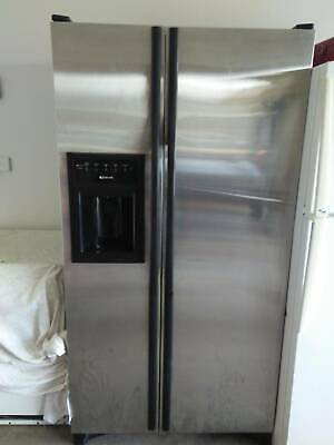 Stainless Steel Double Door Fridge
