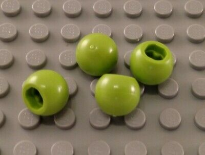 Lego 5 New Lime Technic Ball Joint Pieces