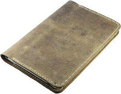 Refillable Leather Journal cover for moleskine classic notebook  Volant 5 x 8.25