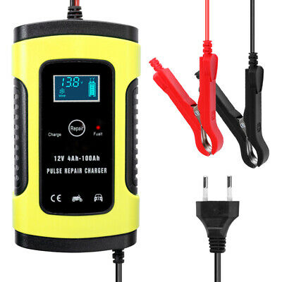 12V 6A Full Automatic Car Battery Charger Intelligent Fast Power Chargers