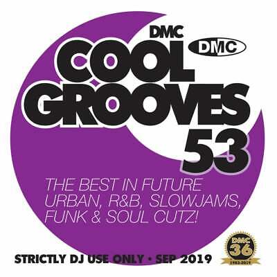 Cool Grooves Vol 53 Chart Hits in Urban, RnB, Jazz, Soul and Funk DJ CD