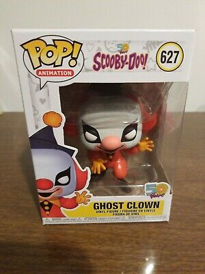 Funko Pop Animation #627 Ghost Clown Scooby-Doo 50 Years In Hand Now