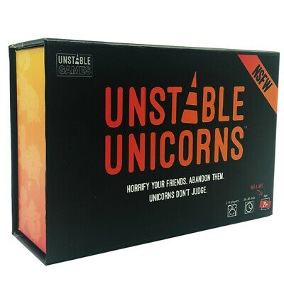 Unstable Unicorns Card Game - NSFW Edition Base Game
