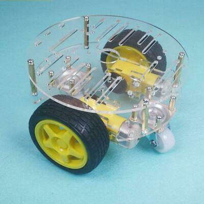2WD Smart Car Tracking Robot Chassis Motor Tank Crawler ABS DIY Kit for Arduino