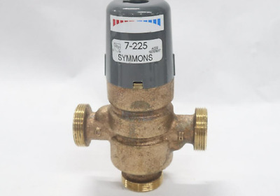 "Symmons Industries 7-225-CK-F Thermostatic Mixing Valve 1/2"" Female NPT"