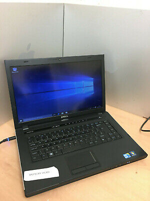 Dell Vostro 3500 LAPTOP Intel Core i3 2.40GHz 320GB 4GB DVDRW WEBCAM WIN10