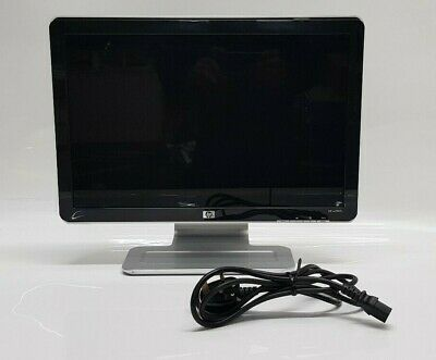 "HP  Pavilion W1907v 19""  widescreen glossy LCD monitor Tested Good Working Order"