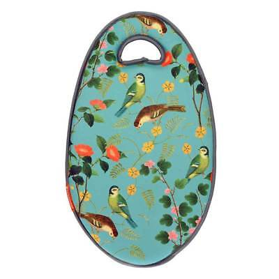 RHS Flora and Fauna Kneelo Garden Kneeler by Burgon and Ball.  Memory foam pad