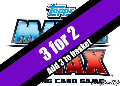 Match Attax - 2019/20 Europa - Centurion/Record Holders/Hat-Trick Hero Cards x 1