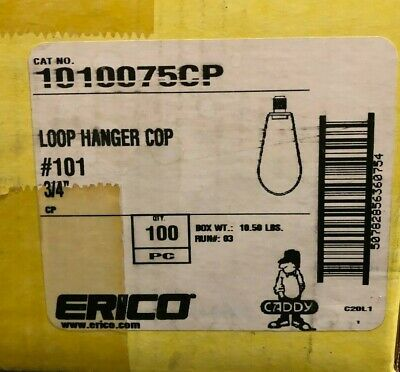 "3/4"" Loop Hanger Cop/Swivel Ring Hanger - 41 pcs"