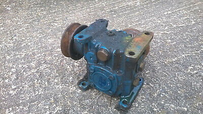 holroyd 301976 25-1 1.125 v ub e5 reduction gearbox petrol winch renold 90 degre