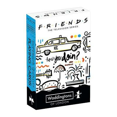 Friends Waddingtons Number 1 Playing Cards