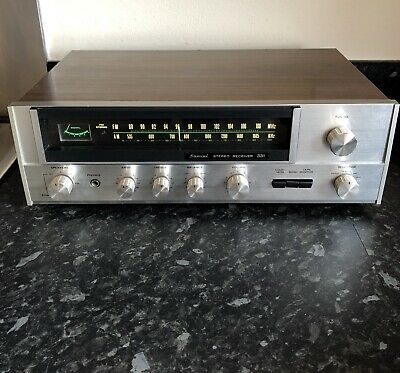 Vintage Sansui 331 FM/AM stereo receiver - Tested & Working Awesome Retro Amp