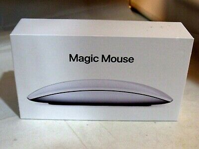 Apple Magic Mouse 2 Wireless Rechargeable - Silver - MLA02LL/A