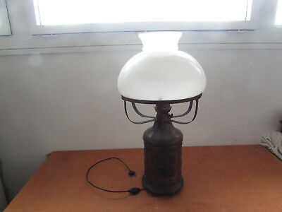 Very Large Lamp Oil Antique